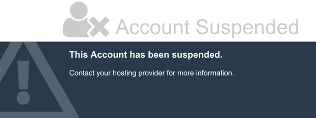 "How to fix ""This Account Has Been Suspended"""